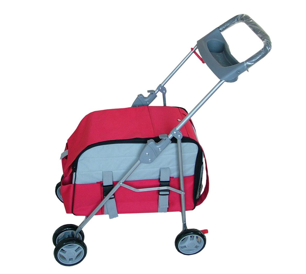 red or pink 3 in 1 stroller carrier car seat combo new ebay. Black Bedroom Furniture Sets. Home Design Ideas